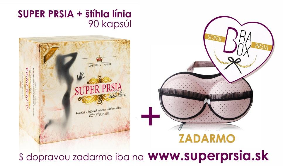 Super PRSIA BRA Box zadarmo.