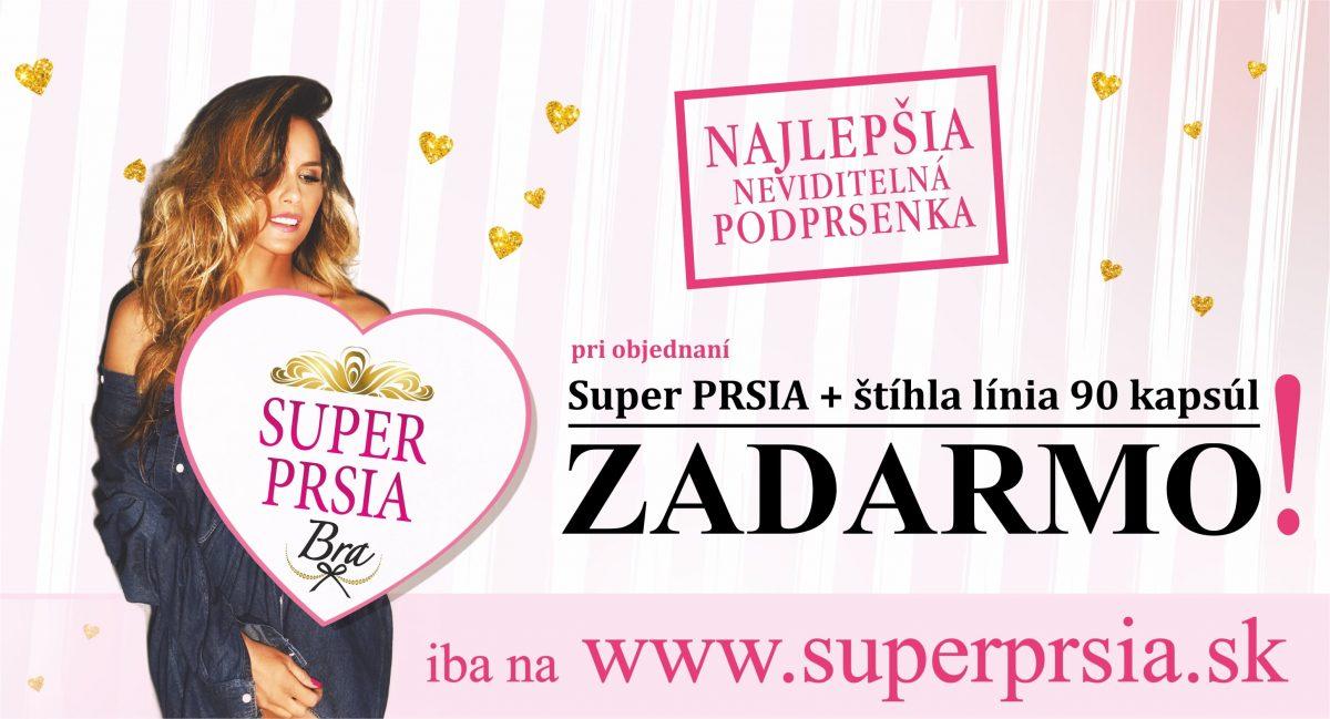 Neviditeľná podprsenka SUPER PRSIA Bra ZADARMO!